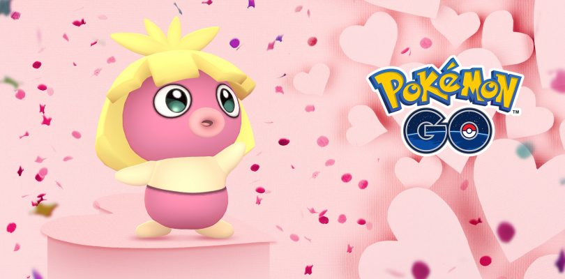 pokemon go valentine's day celebration